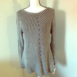 Style Co. sweater with flare bottom NWT